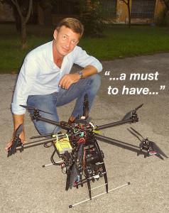 LUCA  SBISA' - Eye-drone, drone owner